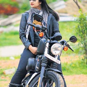 First Harley woman in India-   Sheeja Mathews. She is also from the state of Kerala, India but lives and works in Bangalore.